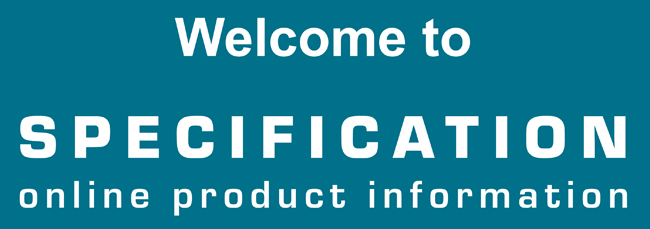 Welcome to Specification Product Information Cards